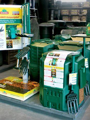 STEOCKLER - Verkaufsstand für Gartenprodukte